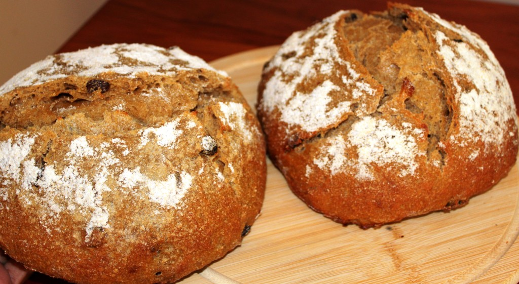 Orange Raisin Bread 2