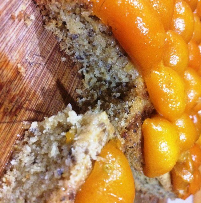 Kumquat Chia Seed Cake